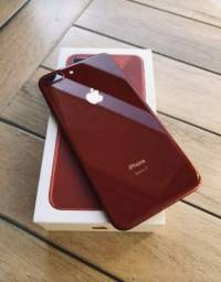 IPhone 8 Plus Red 64GB com Nota Fiscal