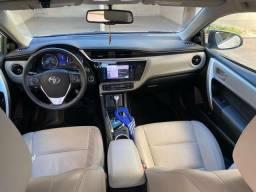 Toyota Corolla Branco Pérola XEi 2.0 AT Mod. 2018 - 2018