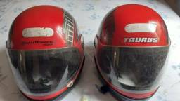 2 capacete tamanho 60 conservado