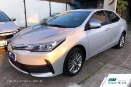 Vila Rica Seminovos - Toyota Corolla GLi, 1.8, 2019, Completo