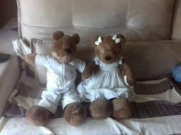 Urso Bob marrom da marca Sílvia Polito