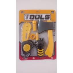 Brinquedo conjunto de ferramentas