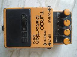 Pedal Guitarra Boss turbo distortion ds-2
