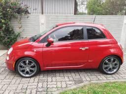 Fiat 500 - 1.4 - 2012 - Carro Top