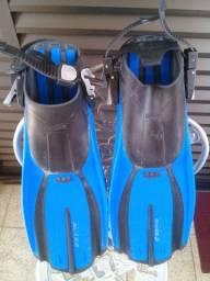 Nadadeira Seasub com bolsa