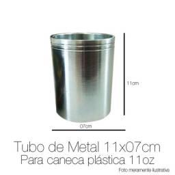 Tubo Alumínio para Sublimação de Canecas de Plástico