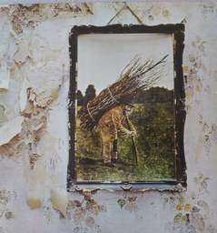 Disco de vinil usado Led Zeppelin 1977