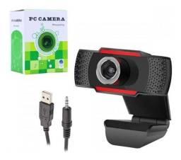 Webcam Câmera Mini Packing 480p Com Microfone