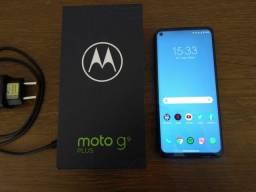 Título do anúncio: T.r.o.c.o Motorola moto g9 plus 128g na caixa NFC impecável