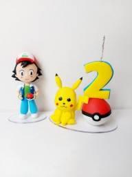 Título do anúncio: Topo de Bolo Pokemom para Aniversário