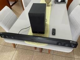 Título do anúncio: Sound bar LG 300 W - SJ3 - Novíssimo