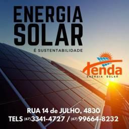 Tenda energia solar