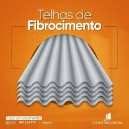 Telha Fibrocimento 2,44x0,50x4mm