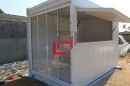 Título do anúncio: Sorveteria em container de 4m de comprimento por 2,44m