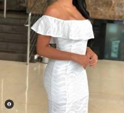 Vestido branco M