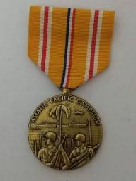 Asiatic-Pacific Campaign Medal 6 de Novembro de 1942