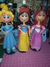 Princesas disney para enfeitar sua festa