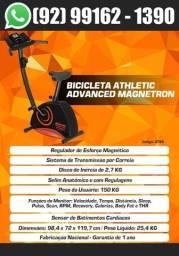 Título do anúncio: Bicicleta Ergometrica Magnética Super Premium Athletic Advanced Magnetron