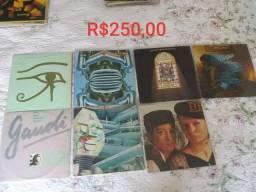 Coleção LPs Alan Parsons Project