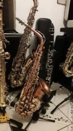 Sax alto maxtone lindo top de som e timbre