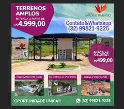 Título do anúncio: Terreno em Condominio Fechado, Lazer Completo! 600m2, Sinal de R$5.000!