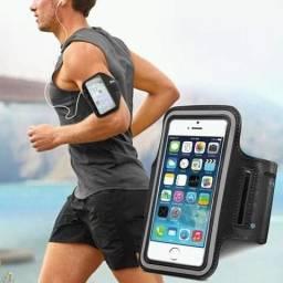 Suporte de celular para por no braço