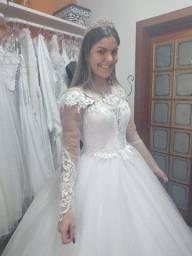 Vestido noiva nunca usado