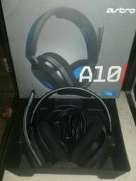 Headset ASTRO gaming A10 para Playstation, Nintendo Switch, Pc e Xbox