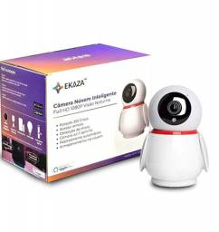 Câmera Ip Wifi Ptz Hd 2.0MP com Rastreamento De Movimento Ekaza