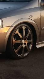 Troco rodas aro 17 Astra SS por GSI