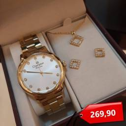 Título do anúncio: Relógio Champion com kit