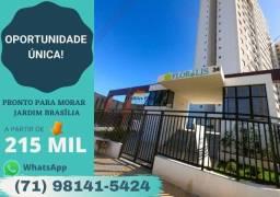 Título do anúncio:  Morada Flor de Lis  - Apartamento com 2/4, suíte, a partir de 50m² em (Pernambués).{J56}