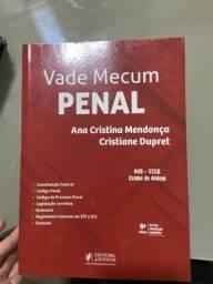 Título do anúncio: Vade mecum Penal - OAB (2021) Ana Cristina Mendonça e Cristiane Dupret