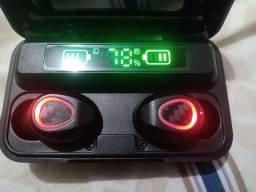 Título do anúncio: Fone de ouvido novo, Bluetooth, com manual na caixa