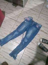Título do anúncio: Vendo calça tamanho 40