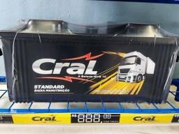 Bateria Cral 150ah - 12m de garantia -  linha pesada