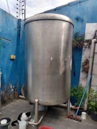 Tonel de inox 3500 litros