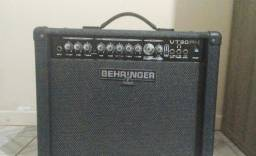 Título do anúncio: Amplificador Behringer VT30fx + Pedal (preço original de 2.200)