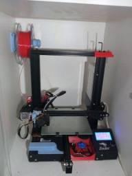Título do anúncio: Impressora Ender 3 2021- Completa Zerada 32bits