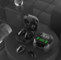 Título do anúncio: Fone Bluetooth S6 PLUS TWS C/ Display de Hora e Bateria<br>