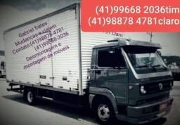 Título do anúncio: Fretes e transporte de mudanças e carretos. Gabriel (41). 99668.2036 Gabriel ligue