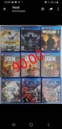 JOGOS PS4.