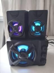 Título do anúncio: Caixa de som RGB Multilaser 30W