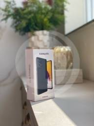 Título do anúncio: Galaxy A72 Preto 128GB Novo/Lacrado, Nota Fiscal, homologado pela Anatel