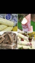 Título do anúncio: Combo de Receitas - Geladinho Gourmet, Bala de Brigadeiro & Palha Italiana