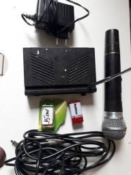 Título do anúncio: Microfone sem fio Leson combateira ficionando