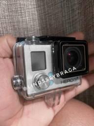 Título do anúncio: Câmera Gopro Hero 3+ Silver