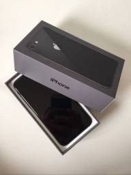 Título do anúncio: iPhone Apple 8 64gb impecável completo com caixa e acessórios originais