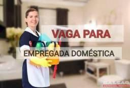 Título do anúncio: Vaga para empregado(a) domestico(a)