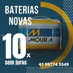 Baterias novas 10x sem juros
